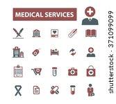 medicine research  medical... | Shutterstock .eps vector #371099099