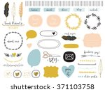 ultimate design elements blog... | Shutterstock .eps vector #371103758
