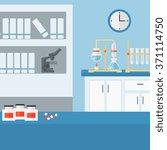 background of laboratory