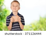 Boy With Peanut Butter Sandwich.