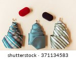 three different colorful ties... | Shutterstock . vector #371134583