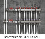 collector  manifold  heating... | Shutterstock . vector #371154218