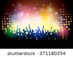 party people in club | Shutterstock . vector #371180354