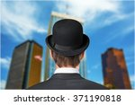 man in hat. | Shutterstock . vector #371190818
