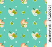 seamless vector pattern with... | Shutterstock .eps vector #371200124