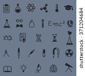 science line icons set | Shutterstock .eps vector #371204684