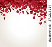 abstract valentines day... | Shutterstock .eps vector #371215114