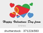 a valentines flag illustration... | Shutterstock .eps vector #371226583