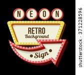 3d vintage street sign. retro...   Shutterstock .eps vector #371228596