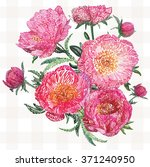vector imitation flower... | Shutterstock .eps vector #371240950