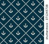 seamless navy pattern   Shutterstock .eps vector #371245738