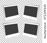 photo frames set on the... | Shutterstock .eps vector #371249320