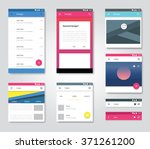 vector user interface graphic...