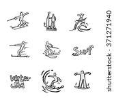 sport illustration   vector  ... | Shutterstock .eps vector #371271940
