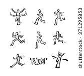 sport illustration   vector  ... | Shutterstock .eps vector #371295853
