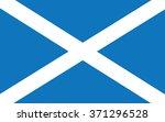 flag of scotland .vector...   Shutterstock .eps vector #371296528