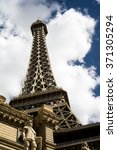Stock photo eiffel tower las vegas 371305294