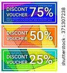 set of three discount voucher...