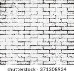 brick wall overlay grunge... | Shutterstock .eps vector #371308924