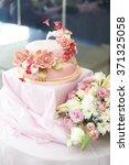 wedding cake | Shutterstock . vector #371325058