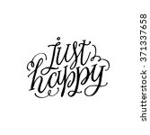 """""""just happy"""". inspirational and ... 