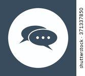 chat | Shutterstock .eps vector #371337850