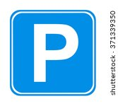 parking sign  | Shutterstock . vector #371339350