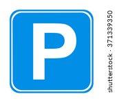 parking sign  | Shutterstock . vector #371339350