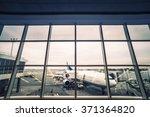 airport | Shutterstock . vector #371364820