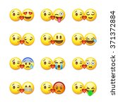 Set Of Emoticons  Emoji...