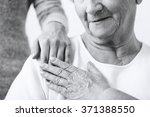 close up of granddaughter... | Shutterstock . vector #371388550