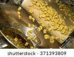tortellini pasta production... | Shutterstock . vector #371393809