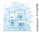 house icon vector illustration | Shutterstock .eps vector #371428558