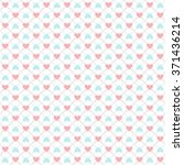 seamless geometric pattern with ... | Shutterstock .eps vector #371436214