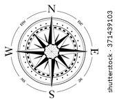compass navigation dial  ... | Shutterstock .eps vector #371439103
