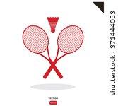 badminton | Shutterstock .eps vector #371444053