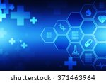 medical abstract background | Shutterstock . vector #371463964