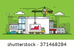 statistics on the background of ...   Shutterstock .eps vector #371468284