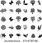 organic icons series | Shutterstock .eps vector #371478748
