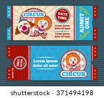 Circus Ticket Template....