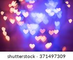 Defocused Blurred Heart Shaped...