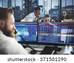 business team investment... | Shutterstock . vector #371501290