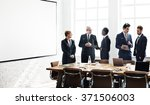business people meeting... | Shutterstock . vector #371506003