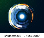 abstract technology background. ...   Shutterstock .eps vector #371513080