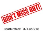 dont miss out red stamp text on ... | Shutterstock .eps vector #371523940
