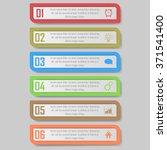 modern design template   can be ... | Shutterstock .eps vector #371541400