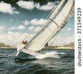 yachting. sailing. sailing... | Shutterstock . vector #371549239