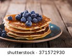 Pancake Folded Stack Of With...