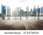 building business district city ... | Shutterstock . vector #371576914