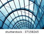 modern hall inside office centre   Shutterstock . vector #37158265